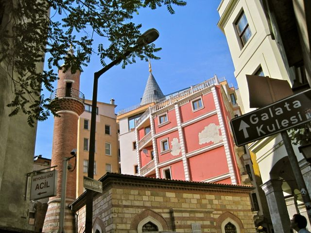 Somewhere by Galata Tower